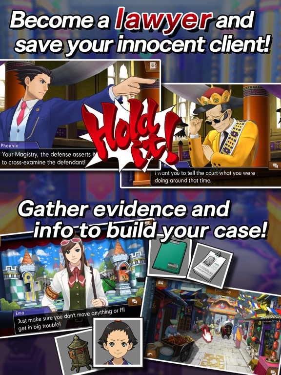 Ace Attorney Spirit of Justice Screenshots