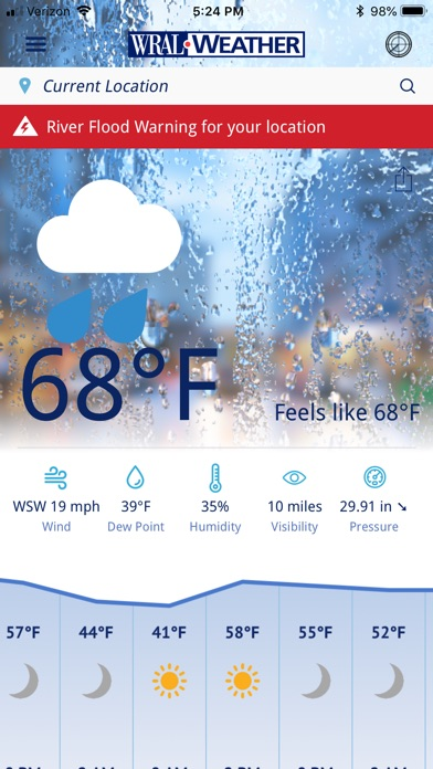 WRAL Weather for Windows