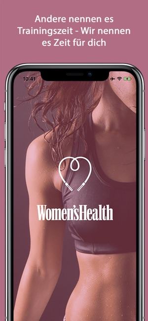Womens Health Personal Trainer Screenshot