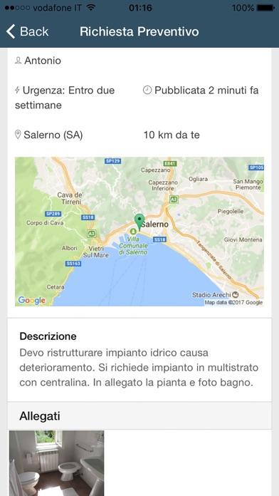 Screenshot of PreventivoAmico2