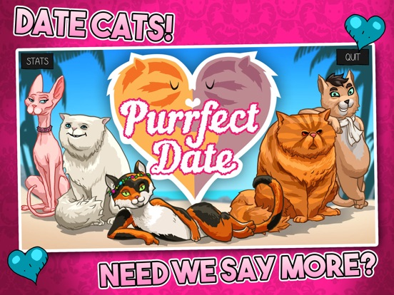 Screenshot #1 for Purrfect Date