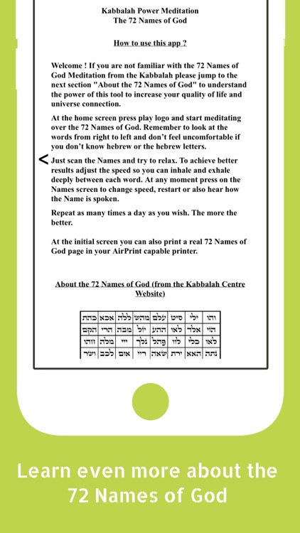 Kabbalah Power Meditation screenshot-3