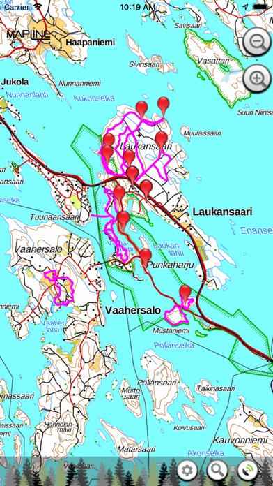 Openmetsä Mobile screenshot one