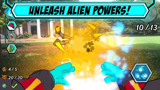 Ben 10 alien experience on the app store ben 10 alien experience on the app store voltagebd Gallery