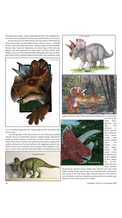 Prehistoric Times Magazine screenshot-2