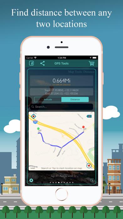 Screenshot of GPS Tools®9