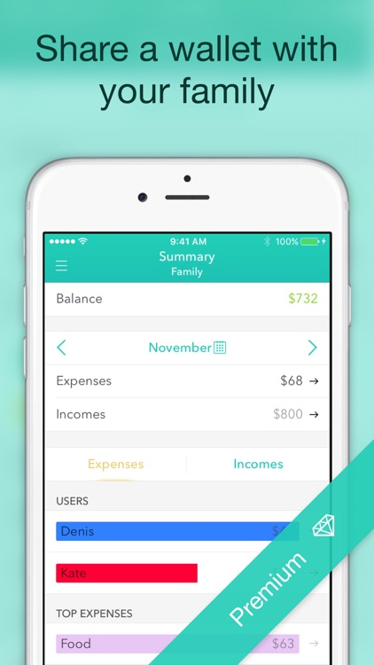 Moneon – Money Expense Tracker