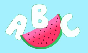 ABC Flashcards - A Yummy Alphabet