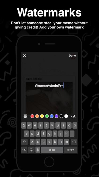 MemeAdminPro - Create Memes screenshot-3