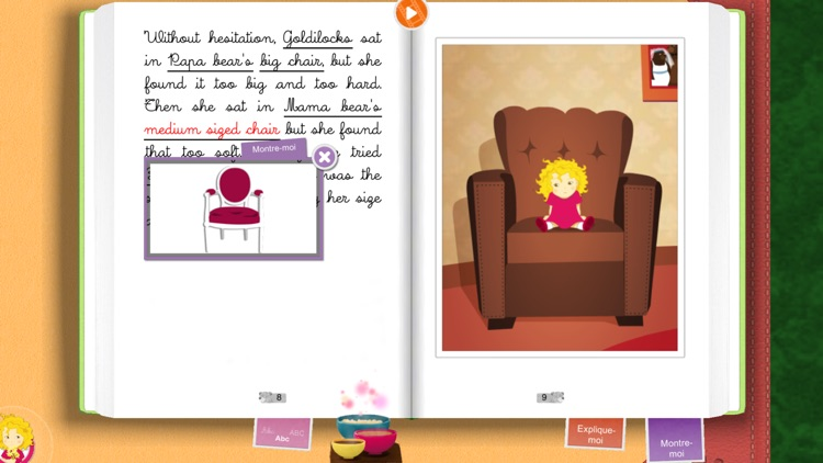 Goldilocks by Chocolapps screenshot-3
