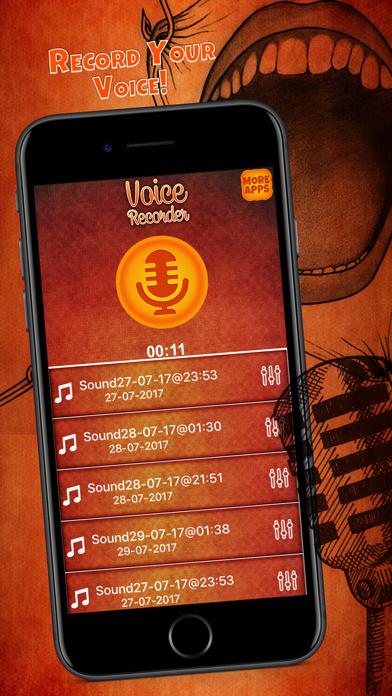 Voice Recorder & Sound Changer