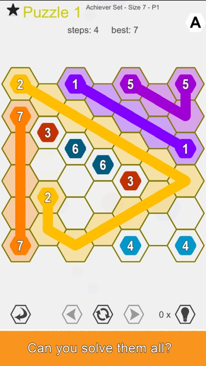 Hexic Link - Logic Puzzle Game screenshot-3