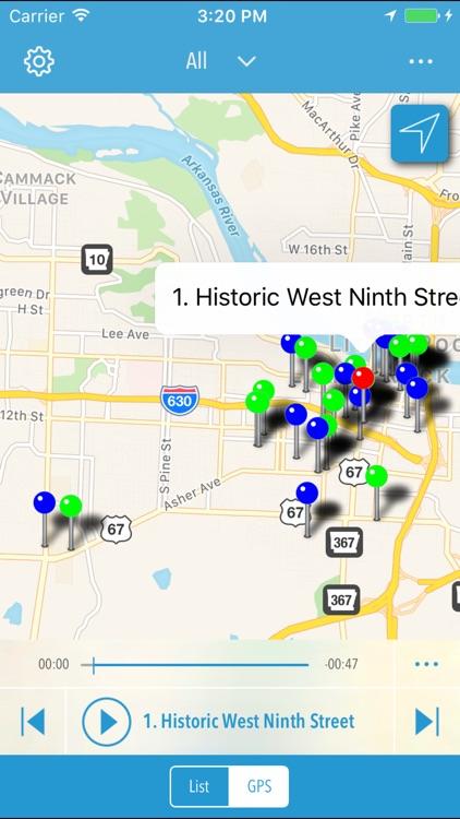 Arkansas Civil Rights History Mobile App screenshot-3