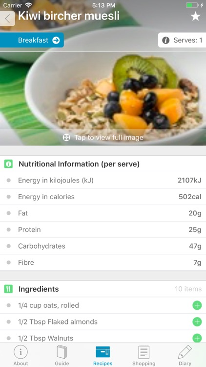 Monash University FODMAP diet screenshot-4
