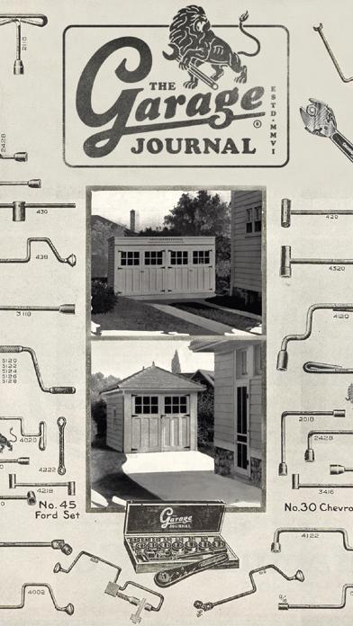 点击获取The Garage Journal