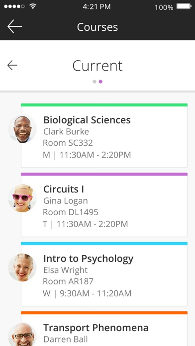 Screenshot for Blackboard in Argentina App Store