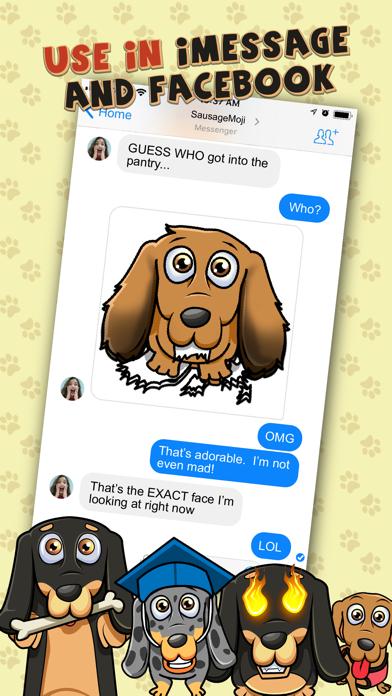 SausageMoji - Dachshund Emojisのおすすめ画像3