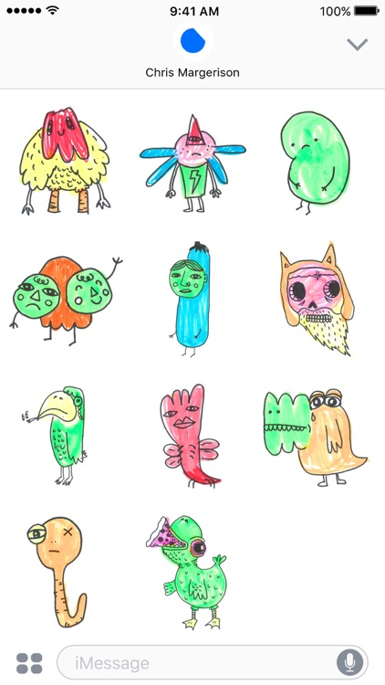 Colourful Monsters