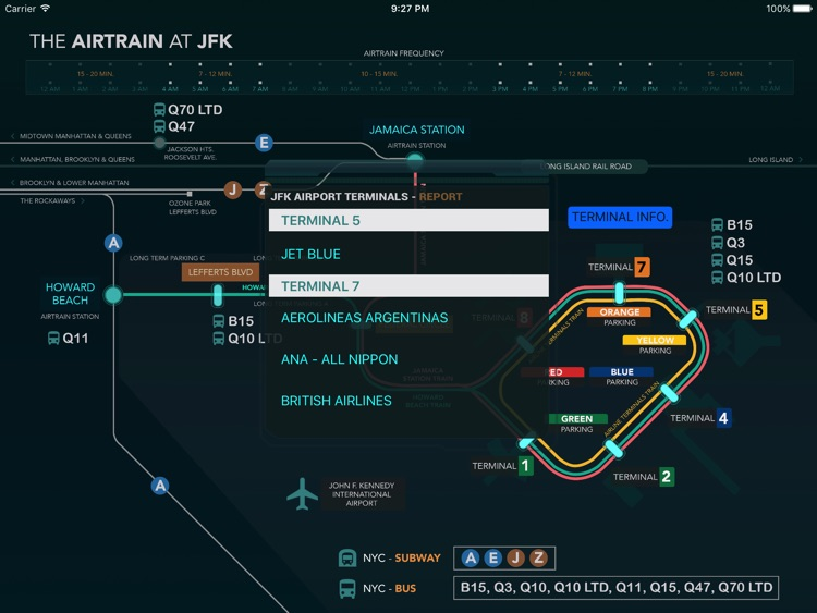 The AirTrain At JFK screenshot-2