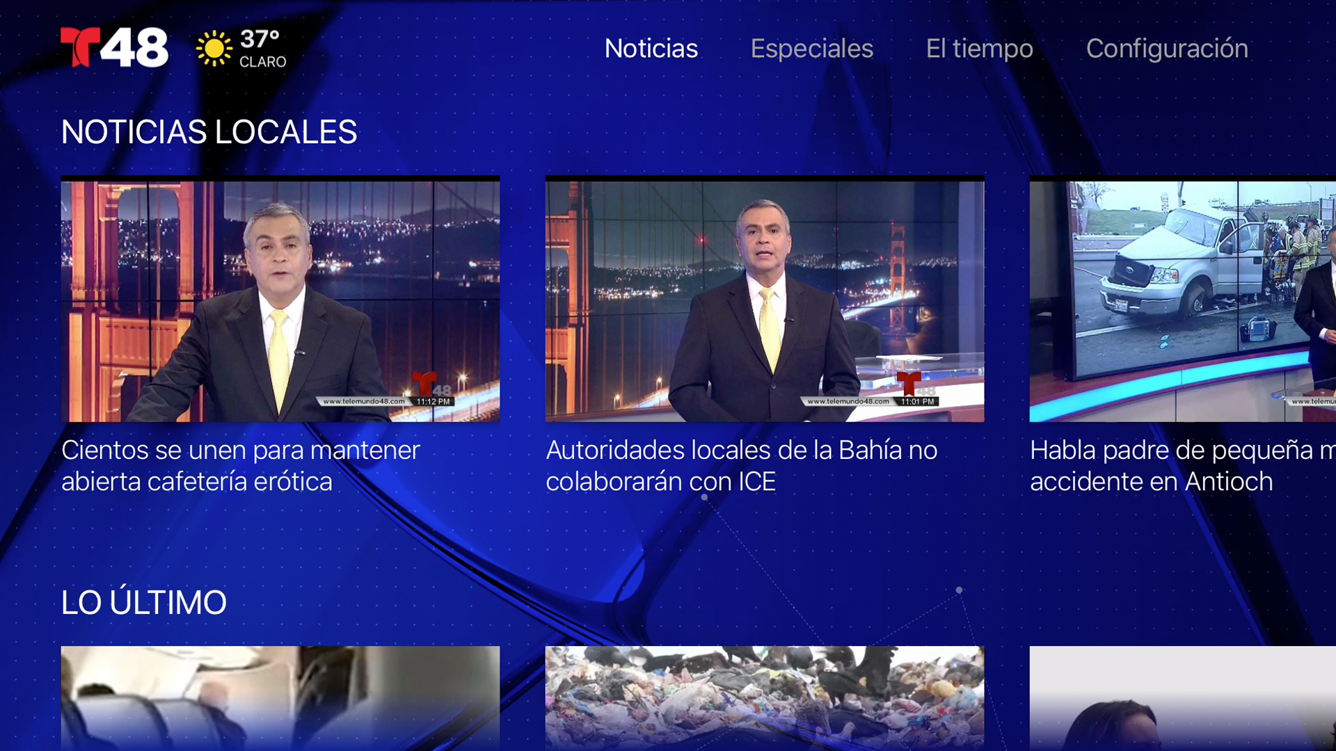 Telemundo 48 screenshot 15