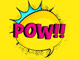 Comic Word Art Stickers is a fun comic style words stickers app