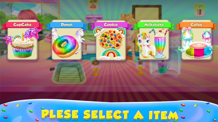 Unicorn Rainbow Cupcake screenshot-4