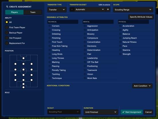 Football Manager Touch 2018 screenshot 3