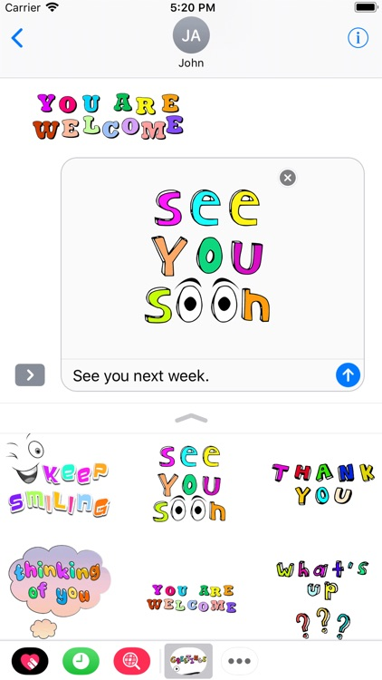Animated Greetings Wishes Card screenshot-5