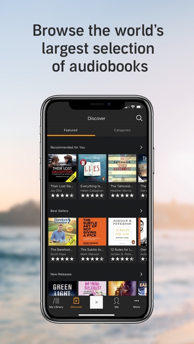 Download Audible - Audiobooks by Amazon for Pc