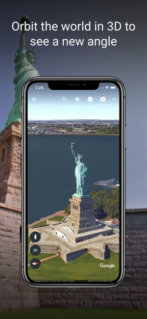 Google earth on the app store.