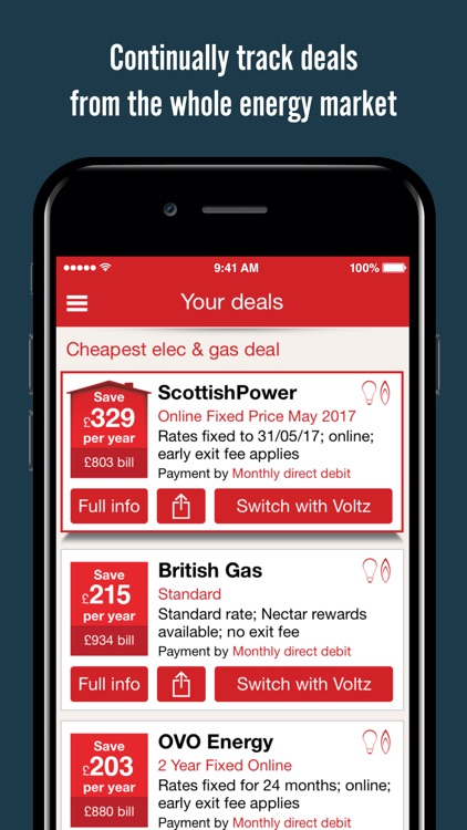 Voltz - Energy Switching App by Simplify Digital Limited