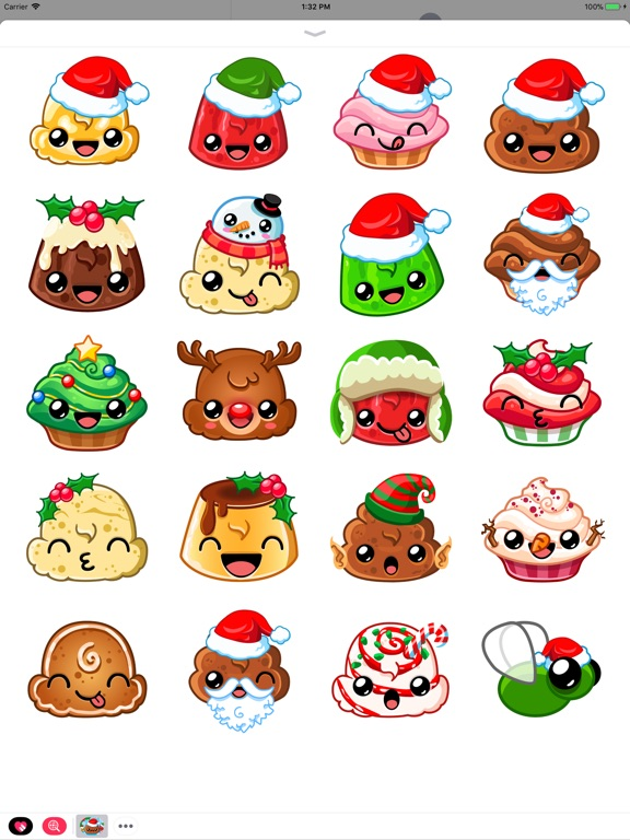 Happy Holiday Stickers screenshot 5