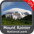 Mount Ranier National Park- Topo icon