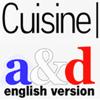 Cuisine a&d English version
