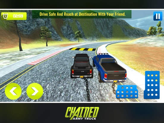 Chained Army Truck Driver screenshot 5