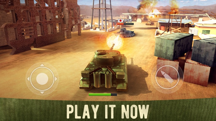 War Machines: 3D Tank Shooting screenshot-0
