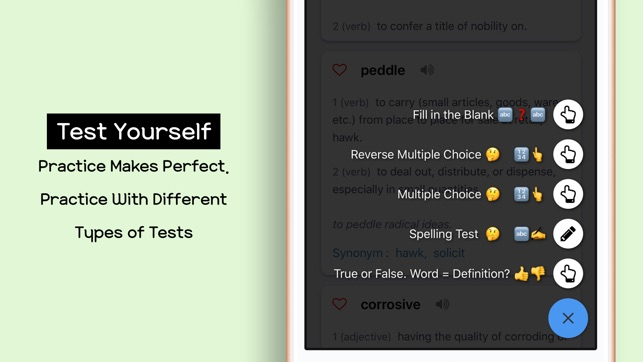 Toefl vocab manager on the app store toefl vocab manager on the app store solutioingenieria Gallery
