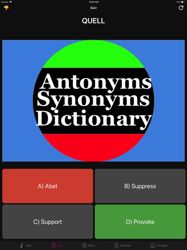 ‎Antonym Synonyms DictionaryPro