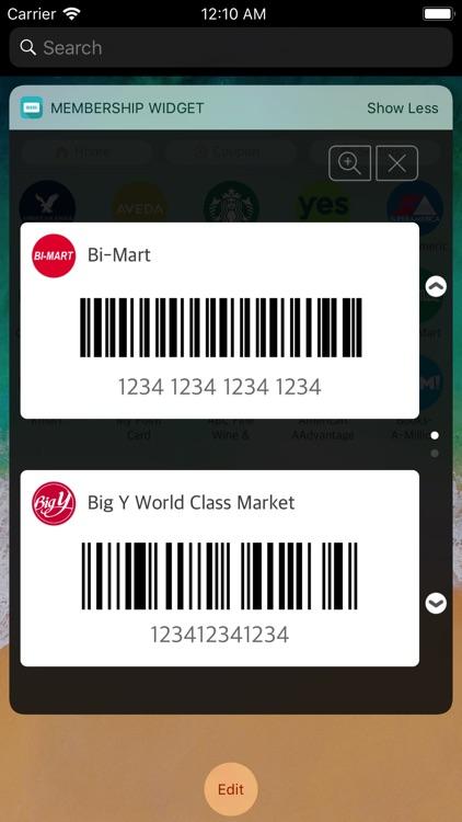 Membership widget Pro screenshot-0