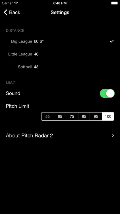 Pitch Radar