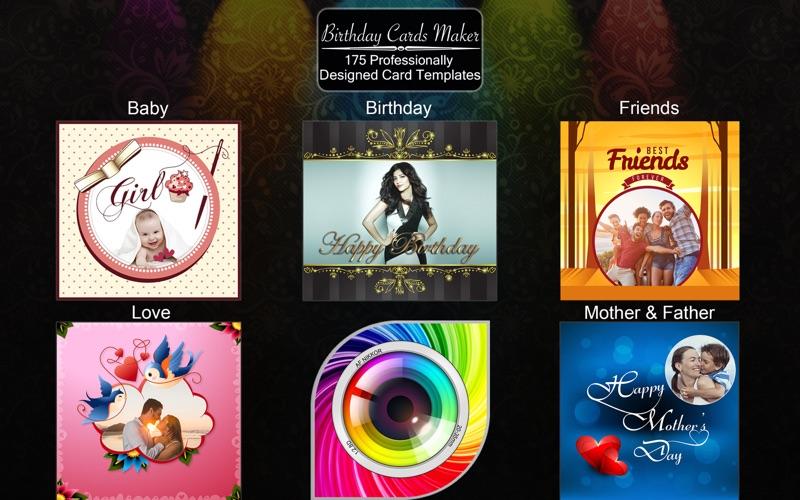 Birthday Cards Maker - Collage screenshot 5
