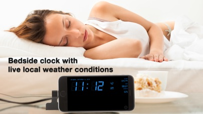 Alarm Clock Weather & Time Pro Screenshots