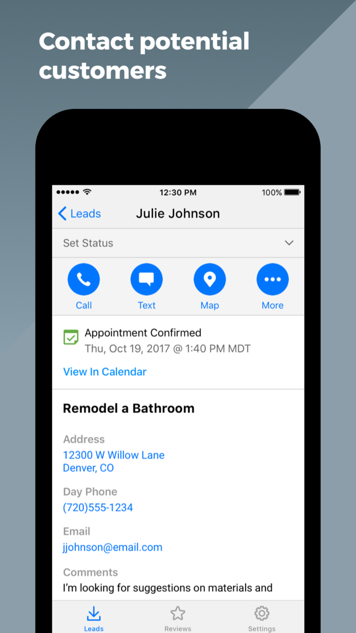 HomeAdvisor Pro Screenshot