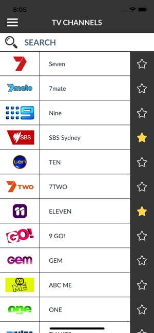 TV Listings Australia (AU) on the App Store