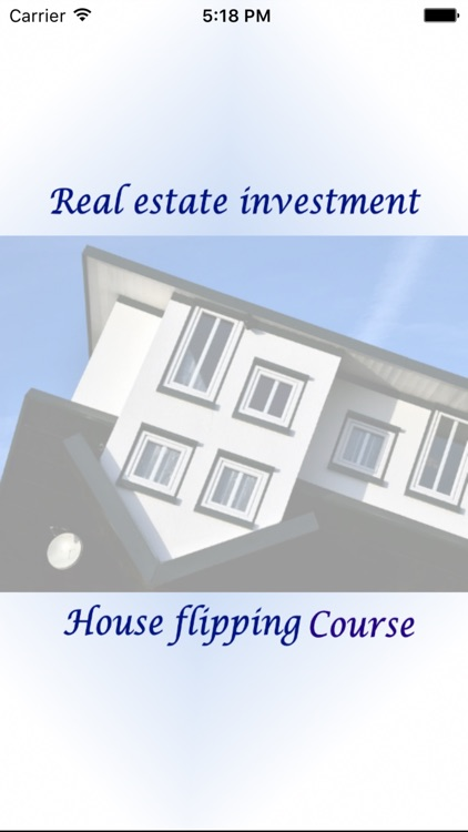 House Flipping Real Estate