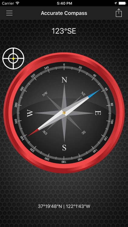 Accurate Compass Navigation
