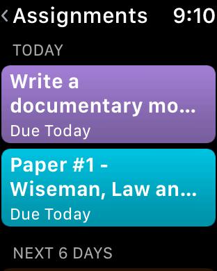 Screenshot #12 for iStudiez Pro Legendary Planner