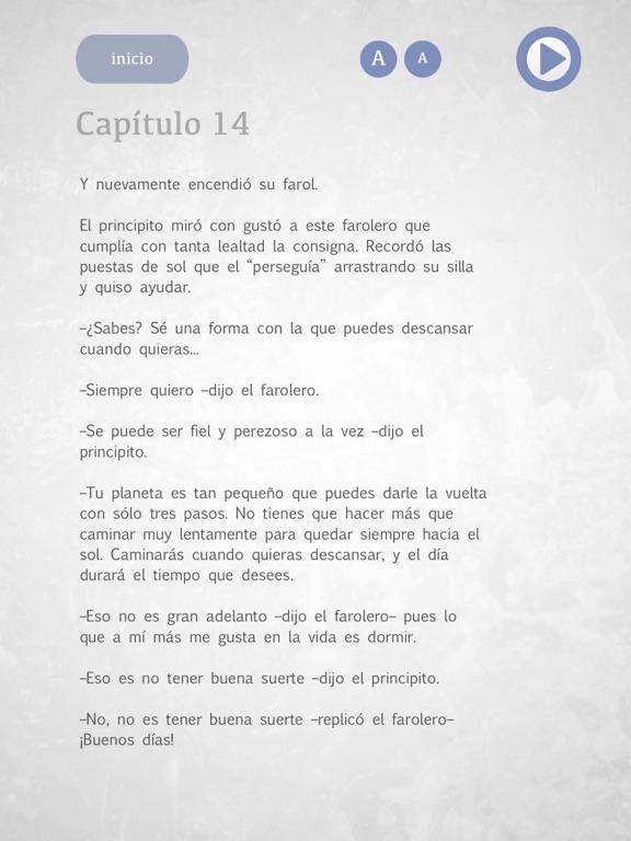 El Principito - Audiolibro screenshot 9