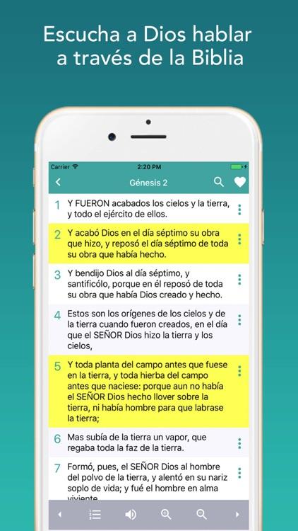 Biblia Reina Valera screenshot-3
