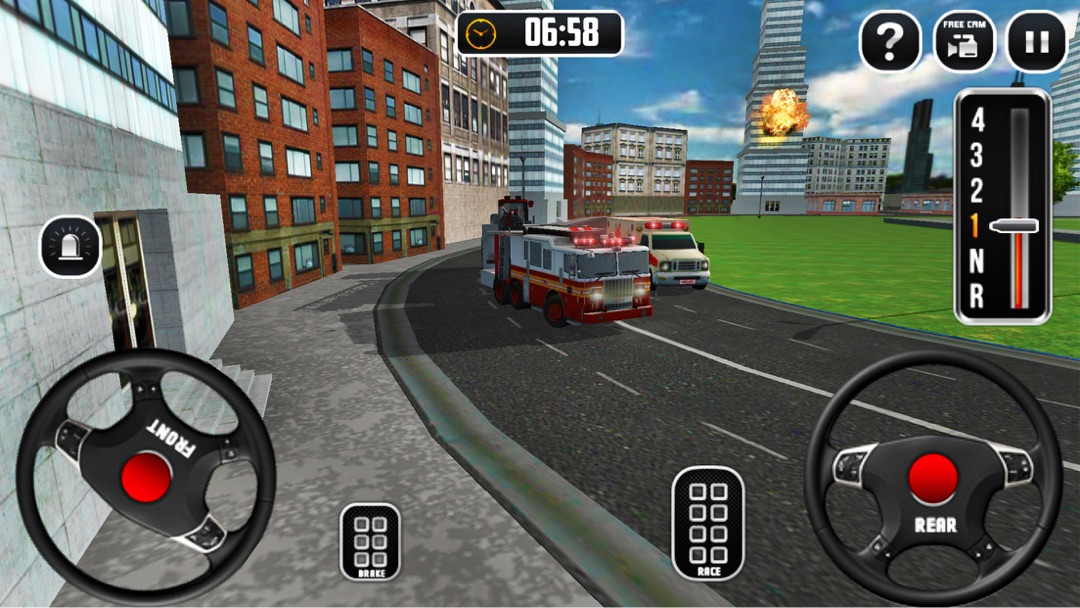 Fire Truck Driving School 2018 - Online Game Hack and Cheat